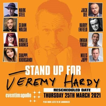 Stand Up for Jeremy Hardy   Eventim Apollo