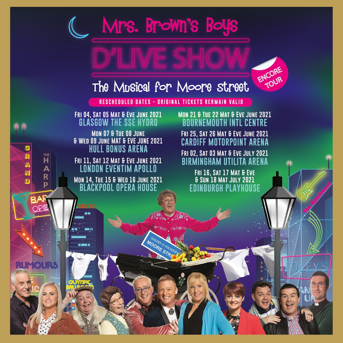 Mrs Browns Boys Christmas Special 2020 Mrs Brown's Boys D'Live Show | Eventim Apollo