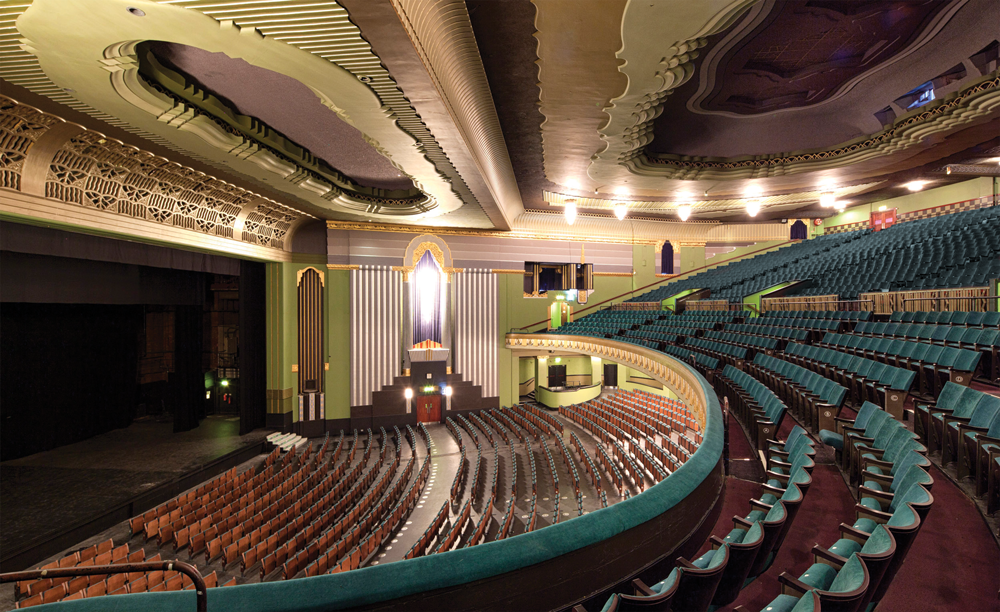 Eventim Apollo Refurb September 2013